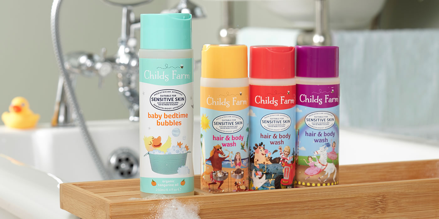 Childs Farm Range of Products 1400x700px-opt